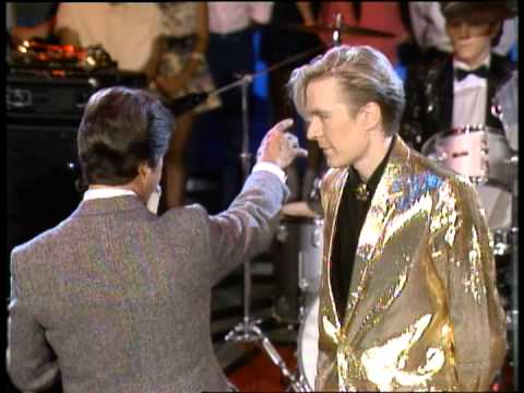 Dick Clark interviews ABC Band - American Bandstand 1982