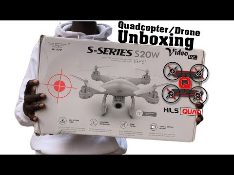 Фото Best Budget Entry Level Photography Drone - SKRC S20w GPS Follow Me Quadcopter Drone Unboxing Video