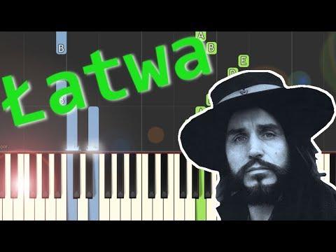 🎹 Sen o Warszawie (Czesław Niemen) - Piano Tutorial (łatwa wersja) 🎹