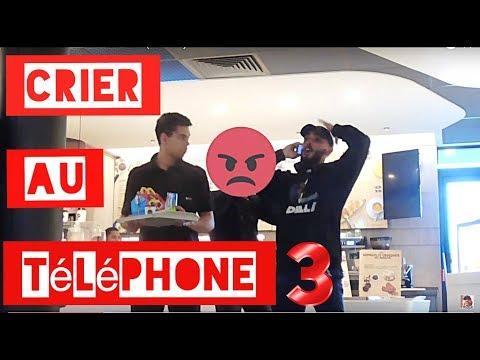 CRIER AU TÉLÉPHONE EN PUBLIC (ALLO #3) - L'insolent