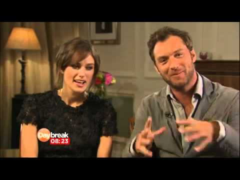Jude Law and Keira Knightly on Daybreak