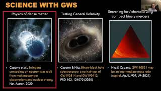 Collin Capano - Probing fundamental physics with gravitational waves (February 25, 2021)