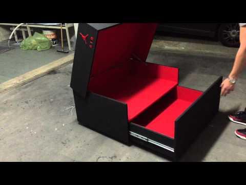 Sneaker Storage Box Caja Nike Air Jordan para guardar tus sneakers