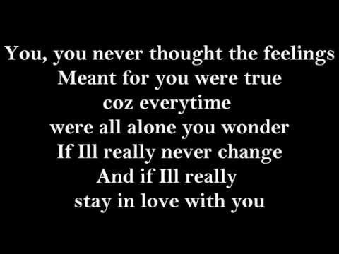 Nina- I will always stay this way (in love with you) Lyrics HD