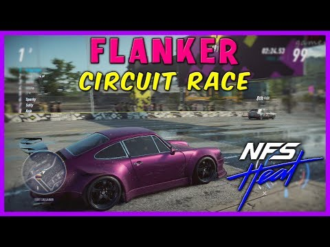CIRCUIT RACE FLANKER NEED FOR SPEED HEAT