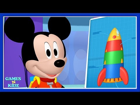 Mickey & Minnie: Mickey Mouse Clubhouse - Space Adventure Dress Up - Disney Junior Game For Kids