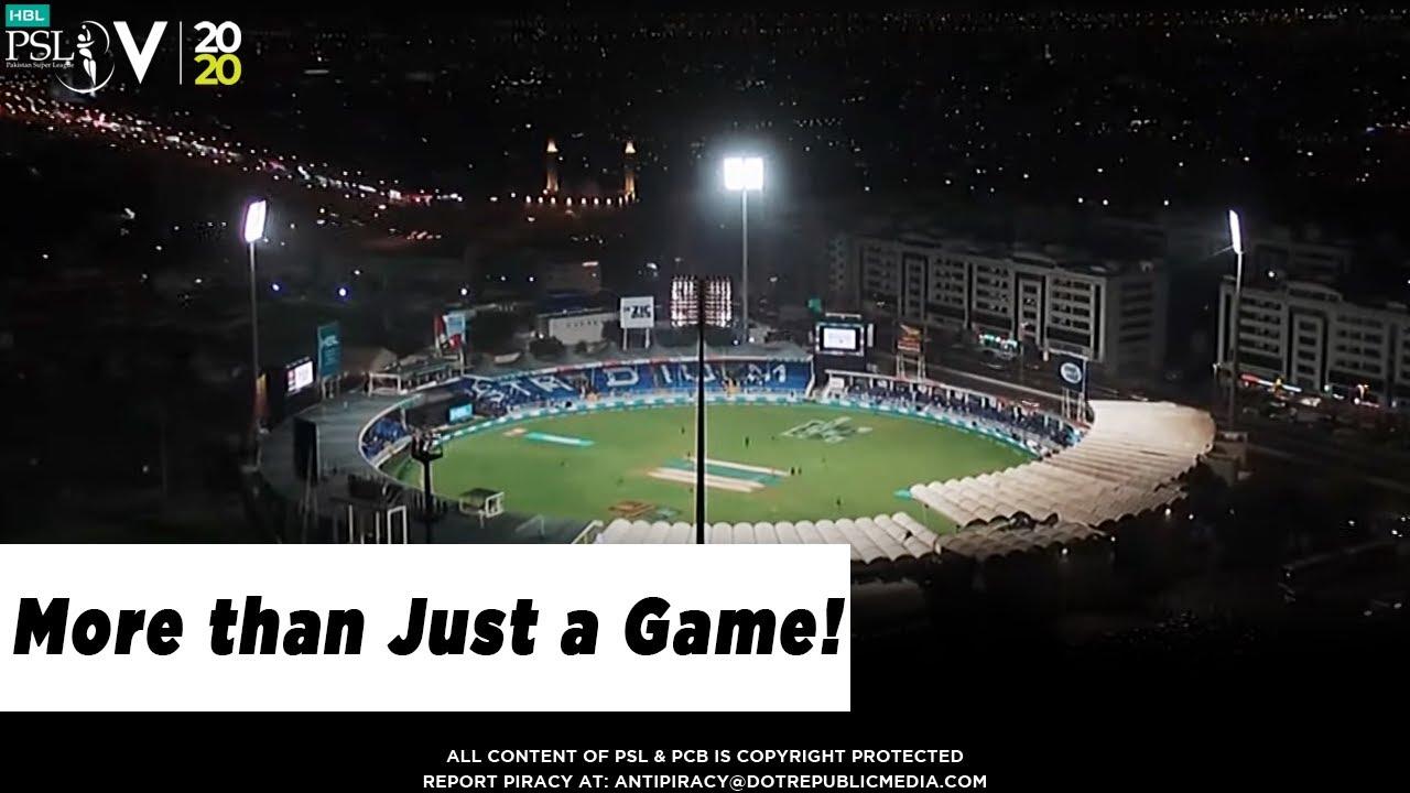 More than just a game! #HBLPSLV #TayyarHain | MA1