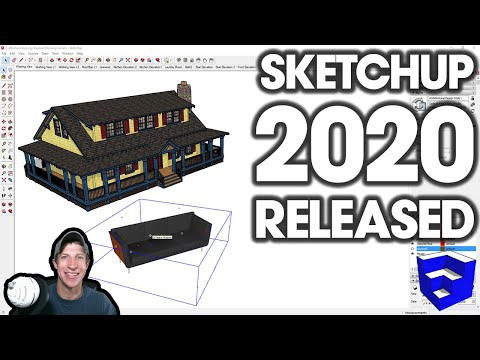 SketchUp 2020 RELEASED - What's New
