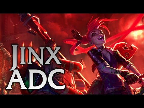 how to build jinx adc