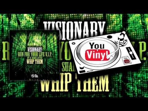Visionary - Run For Your Life V.I.P. (Ft. D. Suade & R'N'R) / Whip Them [OP010]