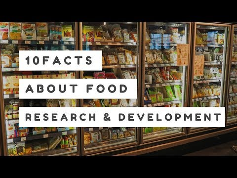 10 Facts About Food Research and Development