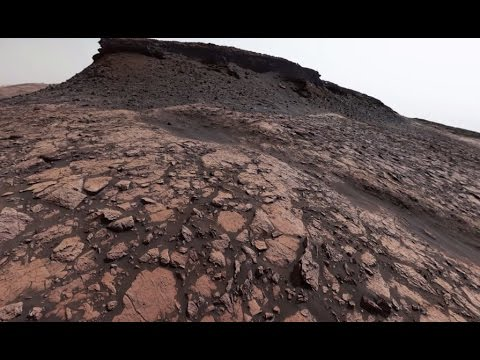NASA's Curiosity Mars Rover Looks Back on Murray Buttes (360 View)
