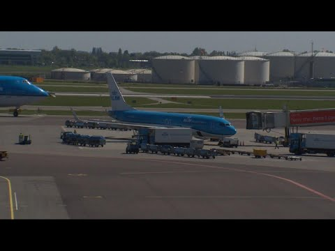 Little sympathy at KLM for striking Air France workers