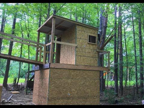 Backyard Fort Construction