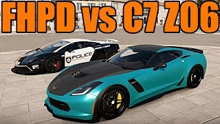Forza Horizon 2 | Police Game | FHPD vs C7 Z06