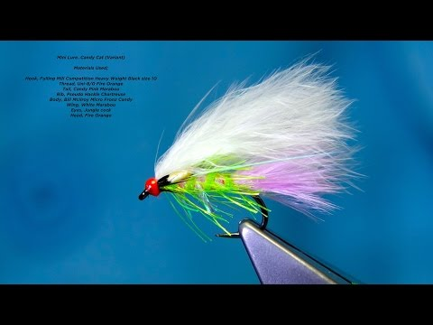 Tying a Pseudo Hackle Candy Cat (Variant) by Davie McPhail