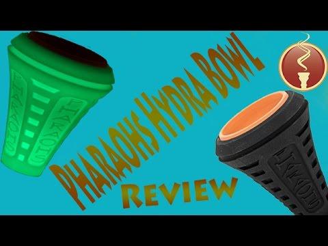 Pharaohs Hydra Hookah Bowl Review