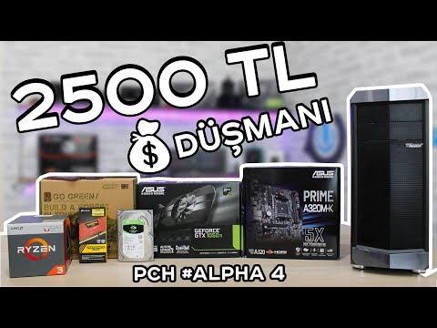 DOLARA İnat 2500 TL'ye Güncel Toplama Oyun Bilgisayarı ve Oyun Testleri - PCH Alpha #4