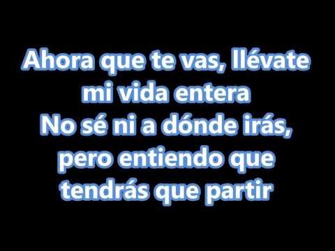 Christian Daniel Ft. Cosculluela - Ahora Que Te Vas (Con Letra) Reggaeton Romantico 2015