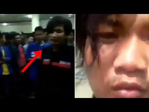 Viral ! mahasiswa mengejek polisi aksinya tuai kecaman tapi akhirnya minta maaf