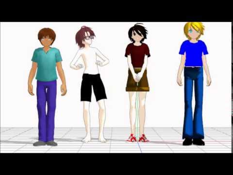 MMD Animation: Minion Banana Song