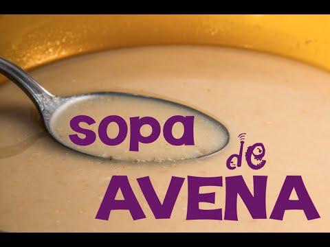 Sopa de avena para adelgazar sin pasar hambre
