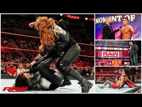 WWE RAW 2/4/19 REVIEW || Stephanie McMahon SUSPENDS Becky Lynch || Kurt Angle Addresses His Future