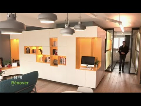 r novation d 39 un appartement paris la maison france 5 youtube. Black Bedroom Furniture Sets. Home Design Ideas