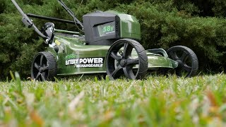 Masport Battery Powered Lawn Mower | P1000ST Review