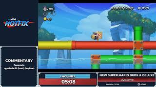 New Super Mario Bros U Deluxe / New Super Luigi U Deluxe - Disability Month