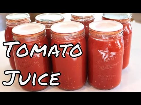 Home Canning Tomato