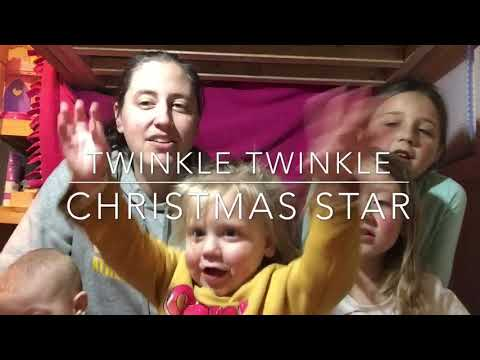 Twinkle Twinkle Christmas Star (with lyrics)