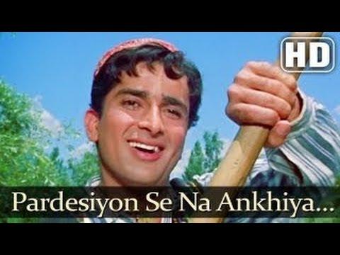 Jab Jab Phool Khile - Pardesiyon Se Na Ankhiyan Milana - Lata Mangeshkar - Bollywood Hit Songs