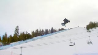 Red Gerard - WINS - SB Slopestyle - Toyota U.S. Grand Prix at Mammoth Mtn