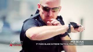 Cyber Monday Alert! MTECH USA Xtreme Mx-8070 Fixed Blade Knife, 18-Inch Overall