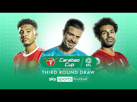 Carabao Cup 2021/22 | Third Round Draw 🏆
