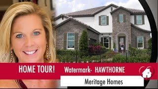 New Homes Winter Garden Florida Watermark by Meritage Hawthorne Model