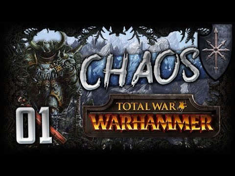 [1] Total War: Warhammer (Warriors of Chaos) Campaign Walkthrough w/ SurrealBeliefs