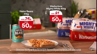 Warburtons Mighty White & Heinz Beans Offer - Iceland TV Advert