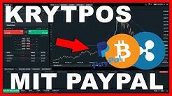 Kryptowährungen kaufen mit PayPal | Bitcoin, Ethereum, Ripple CFD Trading (Deutsch Anleitung)