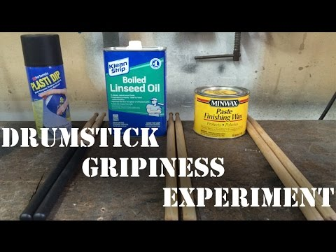 drum stick grip experiments youtube. Black Bedroom Furniture Sets. Home Design Ideas