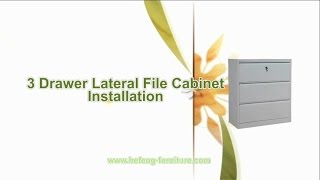 Drawer Filing Cabinet Installation Video