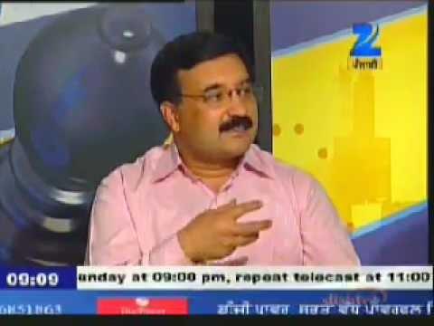 "**Khabarsar** on ""Citizen Activism"" : Zee Punjabi TV Talk Show : Part I"