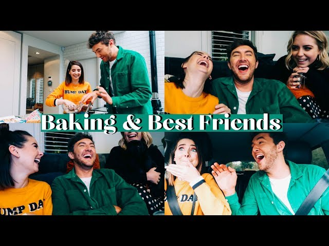 BAKING AND BEST FRIENDS | WEEKLY VLOG