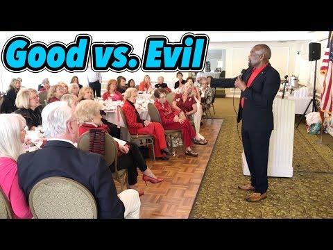 Liberals Demonize Christians & Trump Because Evil Hates Good (Republican Women Federated Q&A)