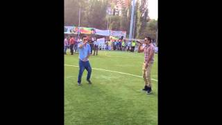 Ali Jaan live sing Lal paranda song happy independence day pakistan in barcelona
