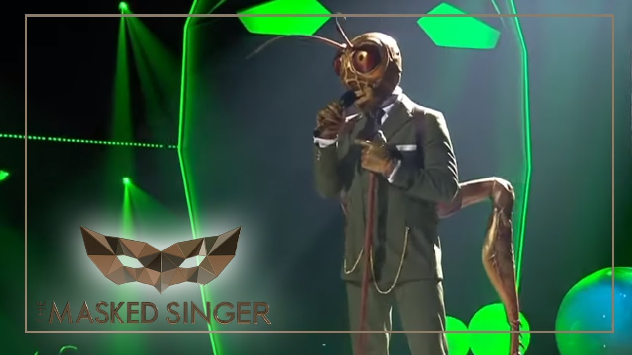 Grashüpfer Masked Singer
