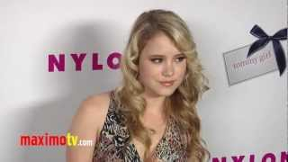 Taylor Spreitler NYLON Magazine Annual May Young Hollywood Issue Party ARRIVALS