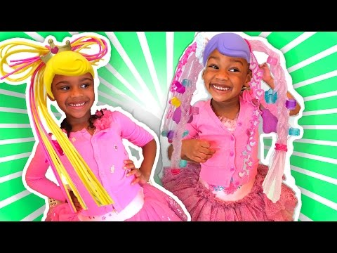 Thumbnail: Toy Challenge for Kids Betty Spaghetty - Doll Dress-up in Real Life!