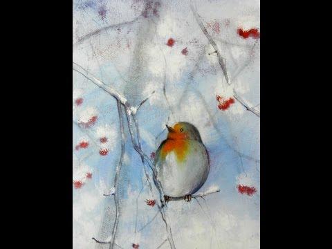 Tutorial Inverno 01 Come Realizzare Un Dipinto Con Le Tempere